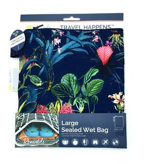 Itzy Ritzy Tropical Floral Sealed Wet Bag