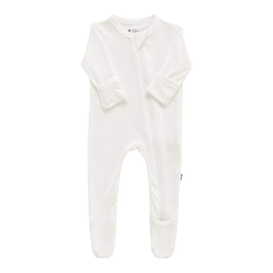 Kyte Baby Zippered Footie - Cloud