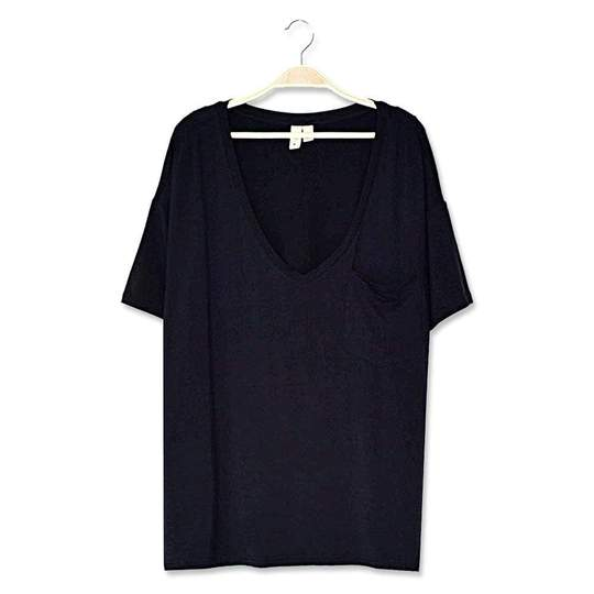 Kyte Baby Womens Relaxed Fit V-Neck - Midnight