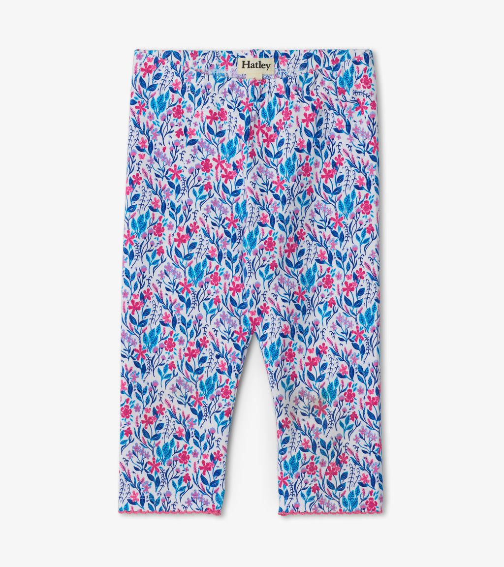 Hatley Capri Leggings - Spring Wildflowers
