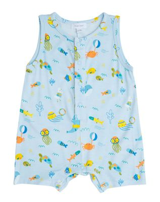 Angel Dear Shortie Romper - Sea Creatures