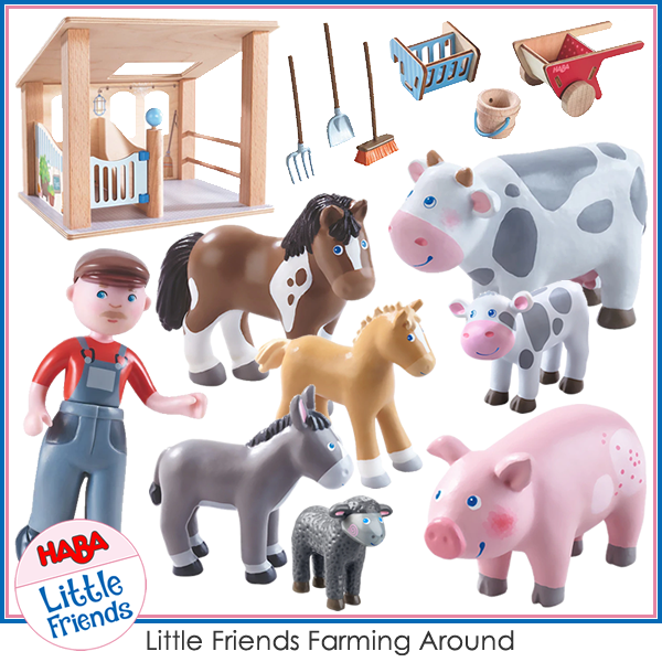 Haba Little Friends Farming Around Bundle