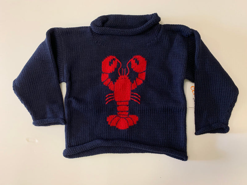 Claver Lobster Sweater