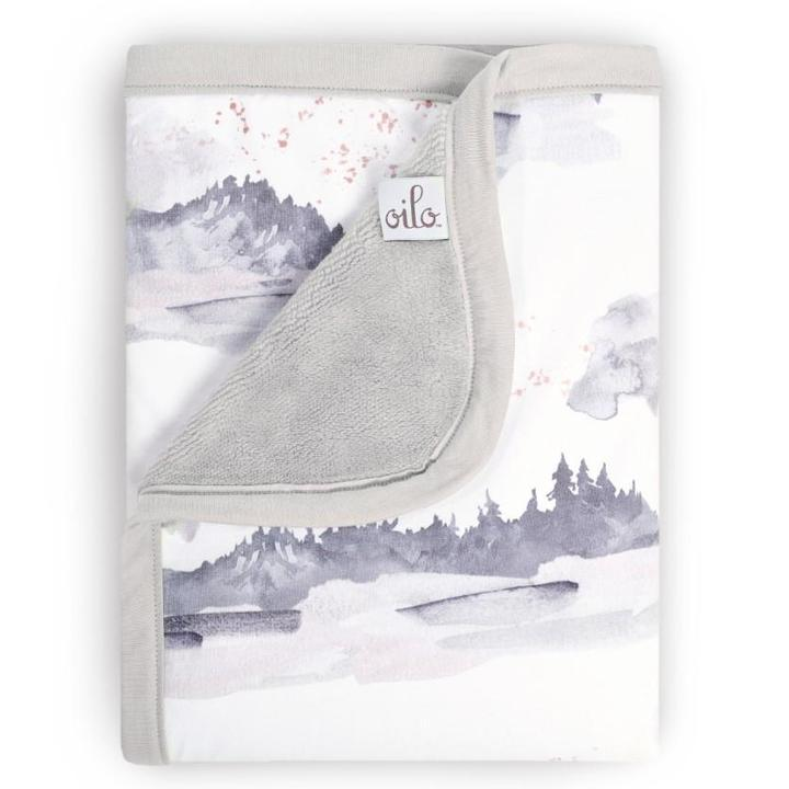 Oilo Cuddle Blanket - Misty Mountain