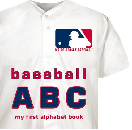 MLB ABC My First Alphabet Book