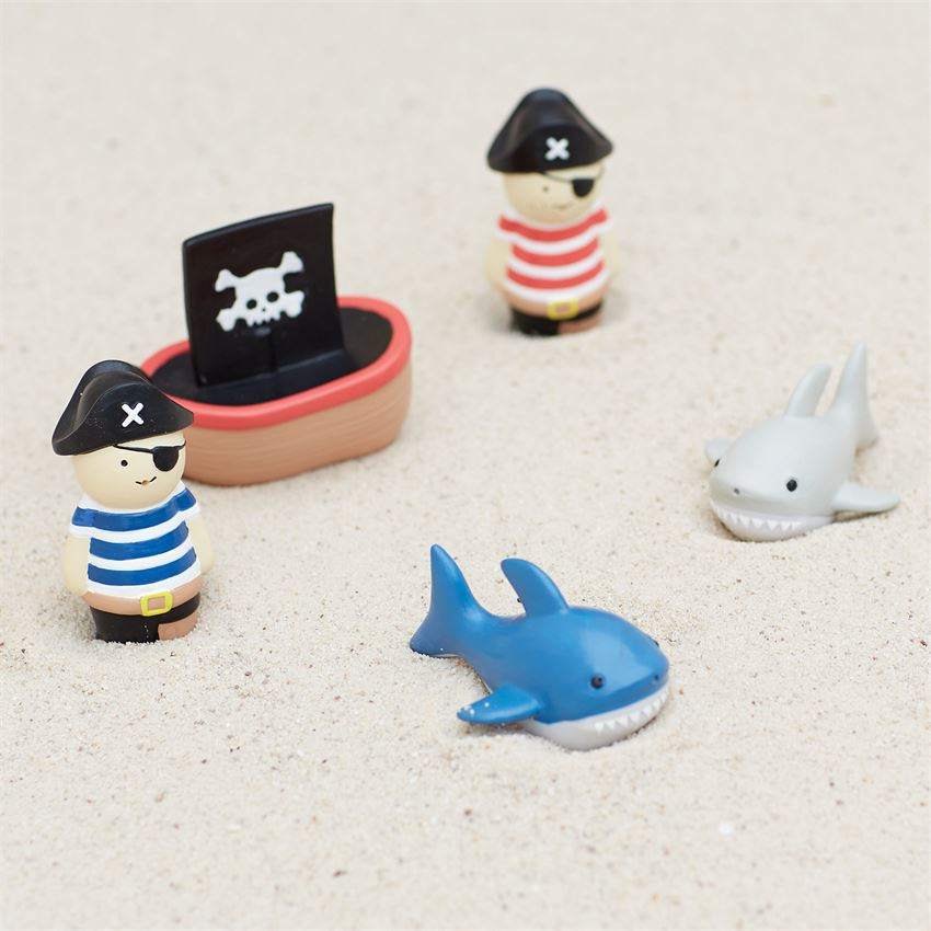 Mud Pie Pirate & Shark Bath Toys