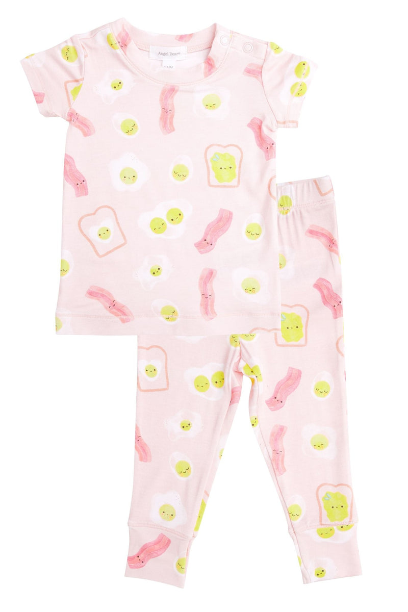 Angel Dear Lounge Wear Set - Pink Bacon and Eggs