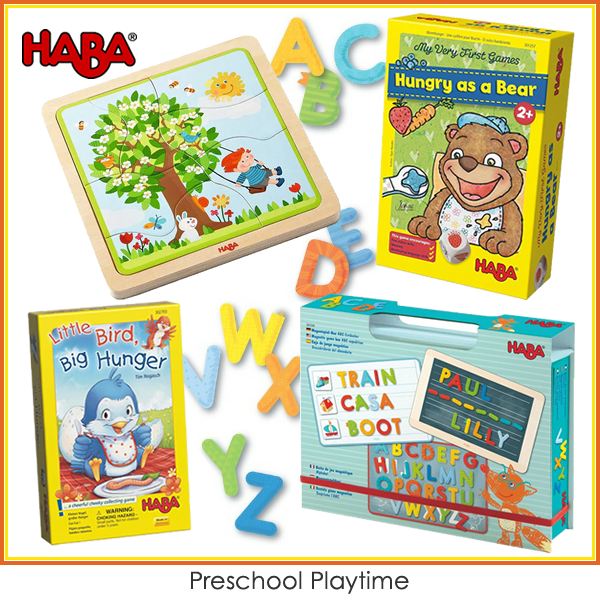 Haba Preschool Playtime Bundle