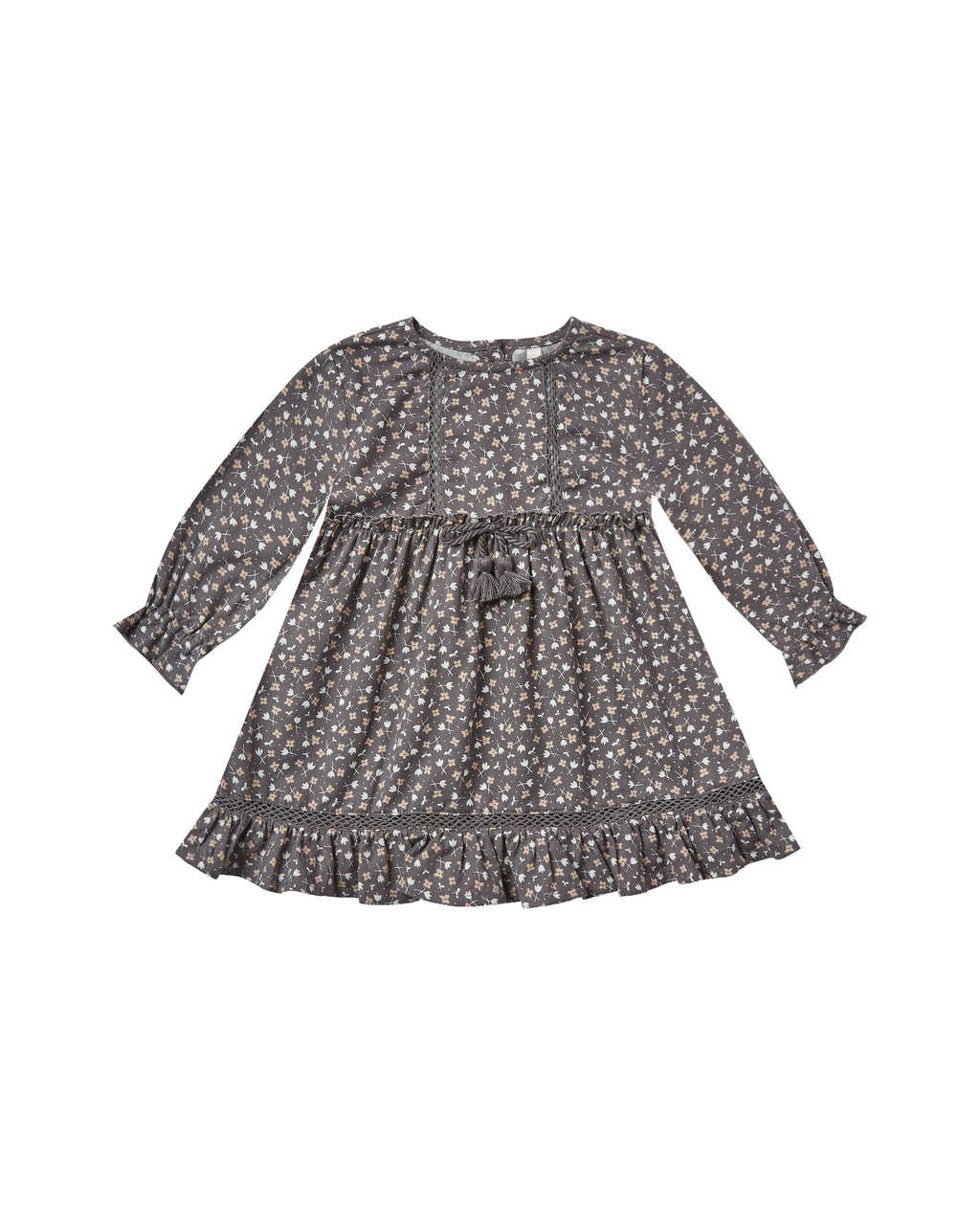 Rylee and Cru AW20- Ditsy Isabella Dress- Washed Indigo