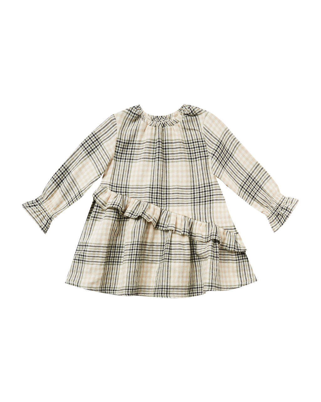 Rylee and Cru AW20 Flannel Hazel Dress- Forest