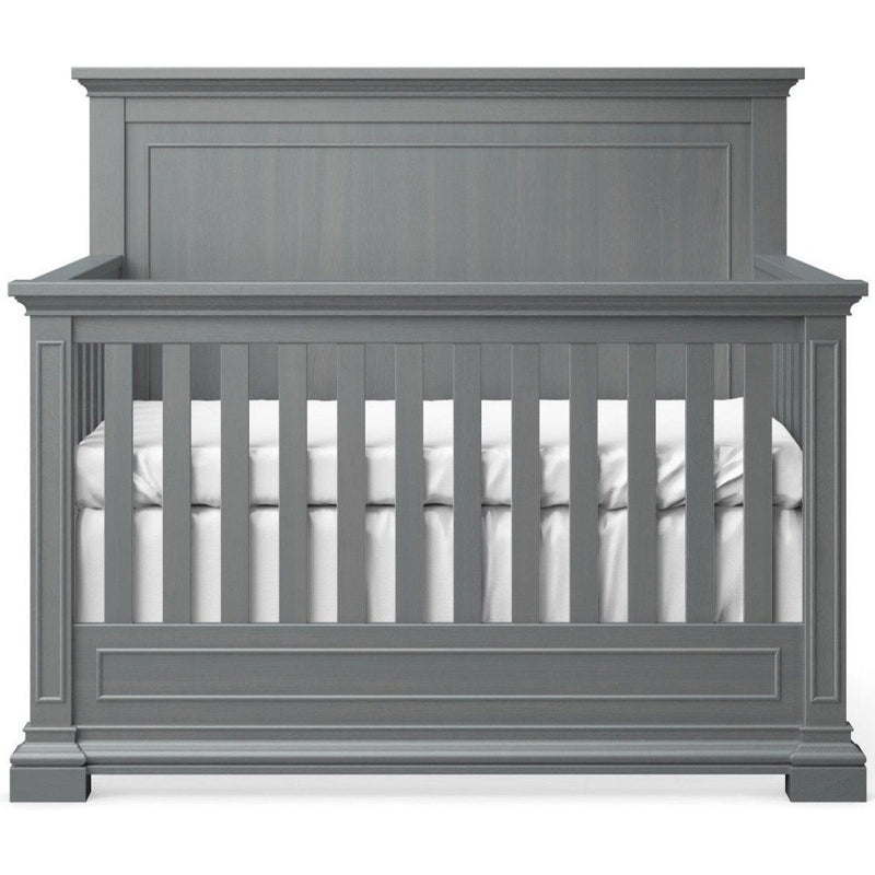 Dolce Babi Lucca Convertible Flat Top Crib in Sea Shell White
