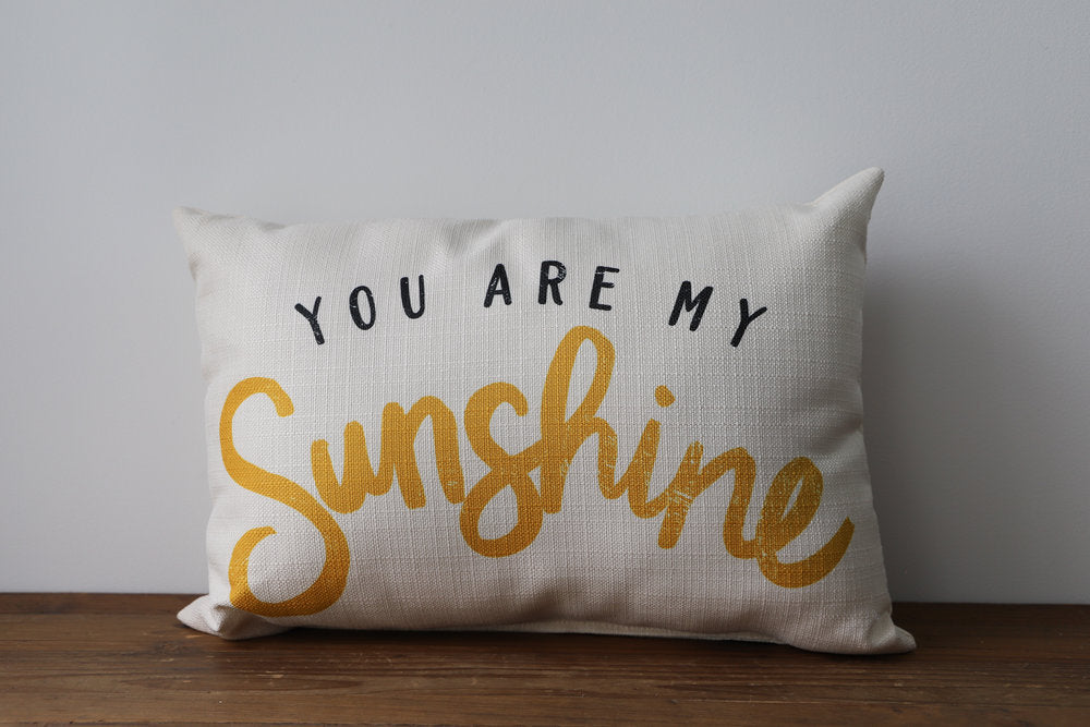 Little Birdie Arts You Are My Sunshine Pillow