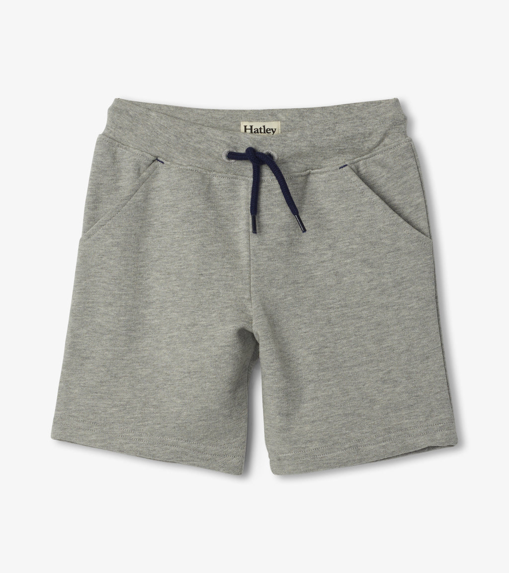 Hatley Athletic Terry Shorts - Grey
