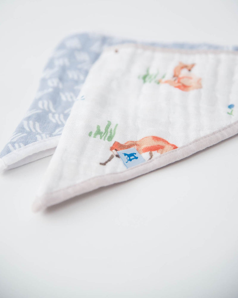 Little Unicorn Cotton Muslin Bandana Drool Bib