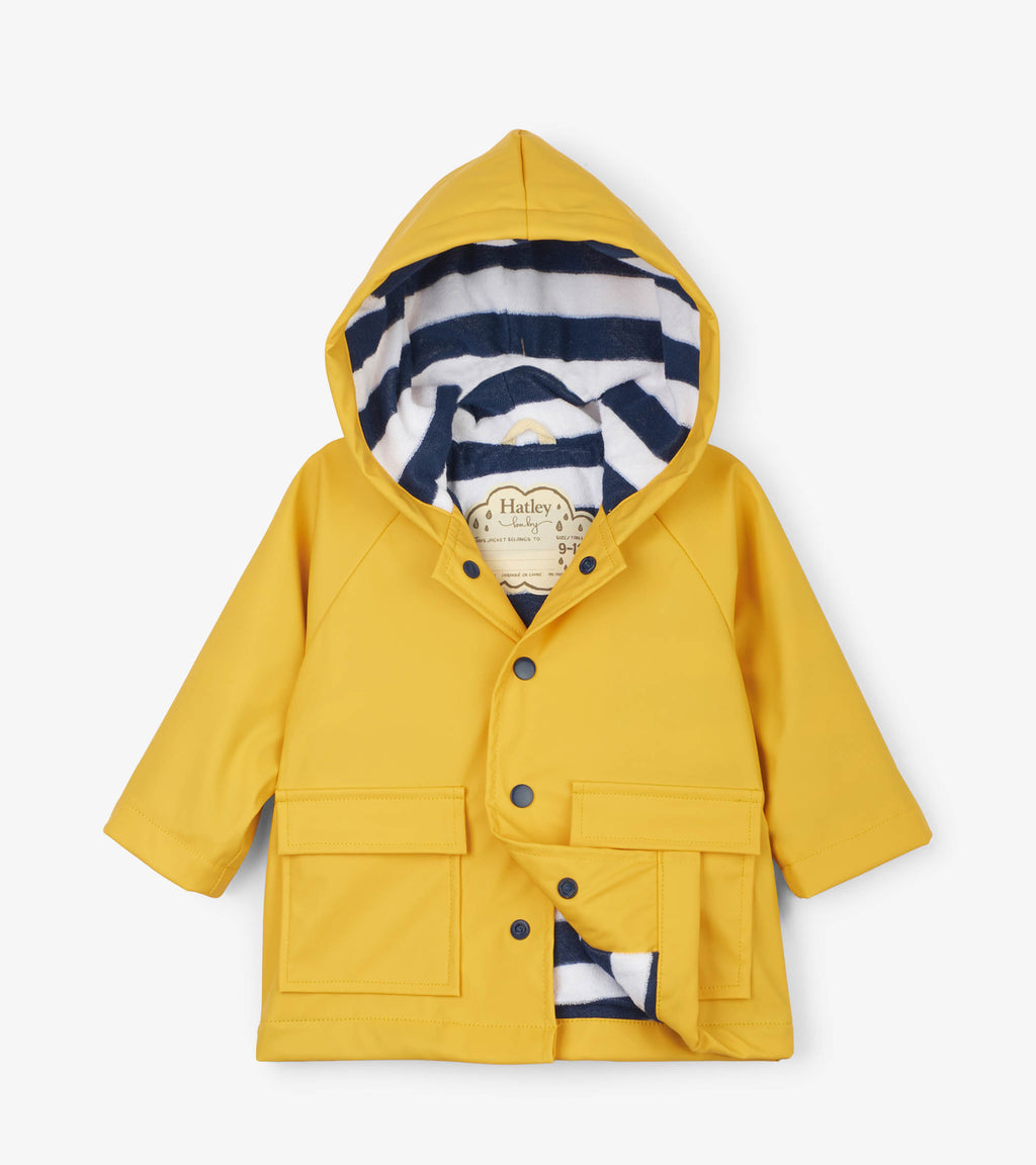 Hatley Yellow Baby Raincoat