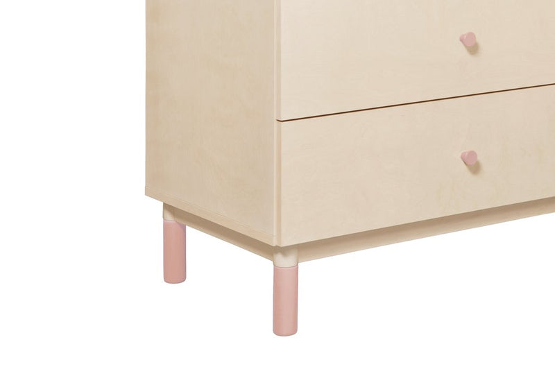 Babyletto Gelato Crib and Dresser Feet