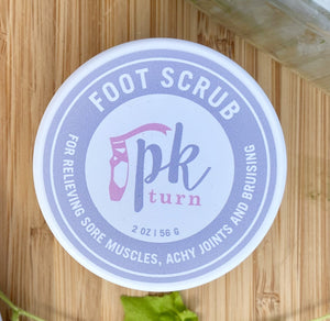 Body Salt Scrub with Arnica Oil