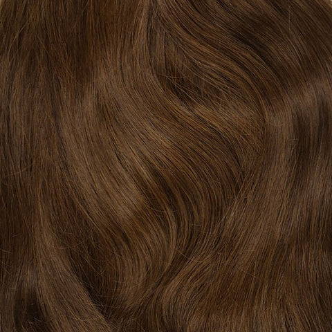 Volumizer: Warm bruine quad weft extensions 🌰