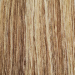 Volumizer: Mixed blonde highlights quad weft extensions 🐆