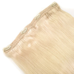 Volumizer: Platina Blonde quad weft extensions 💍