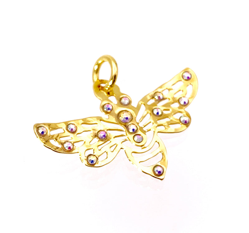 Honey Bee Pendant 14K Gold plated