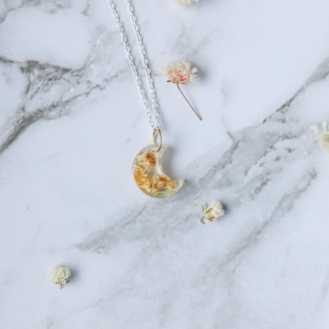 Floral Moon Necklace | Elidi Wild