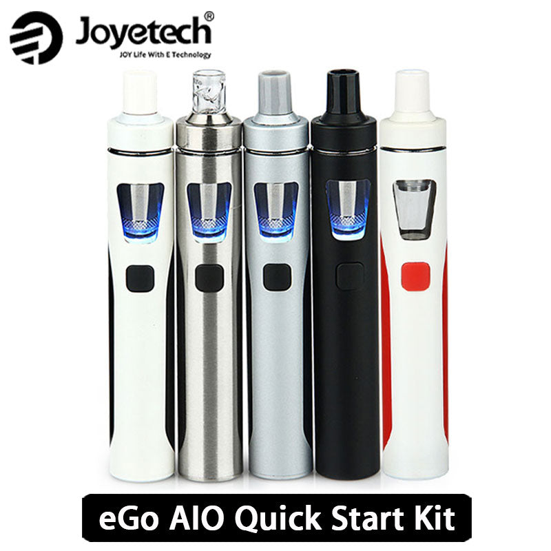Orijinal Joyetech eGo AIO Vape Kiti All-in-One Starter Kit w/2 ml Atomizer ve 1500 mah Pil eGo e Sigara Kiti vs aio ijust s