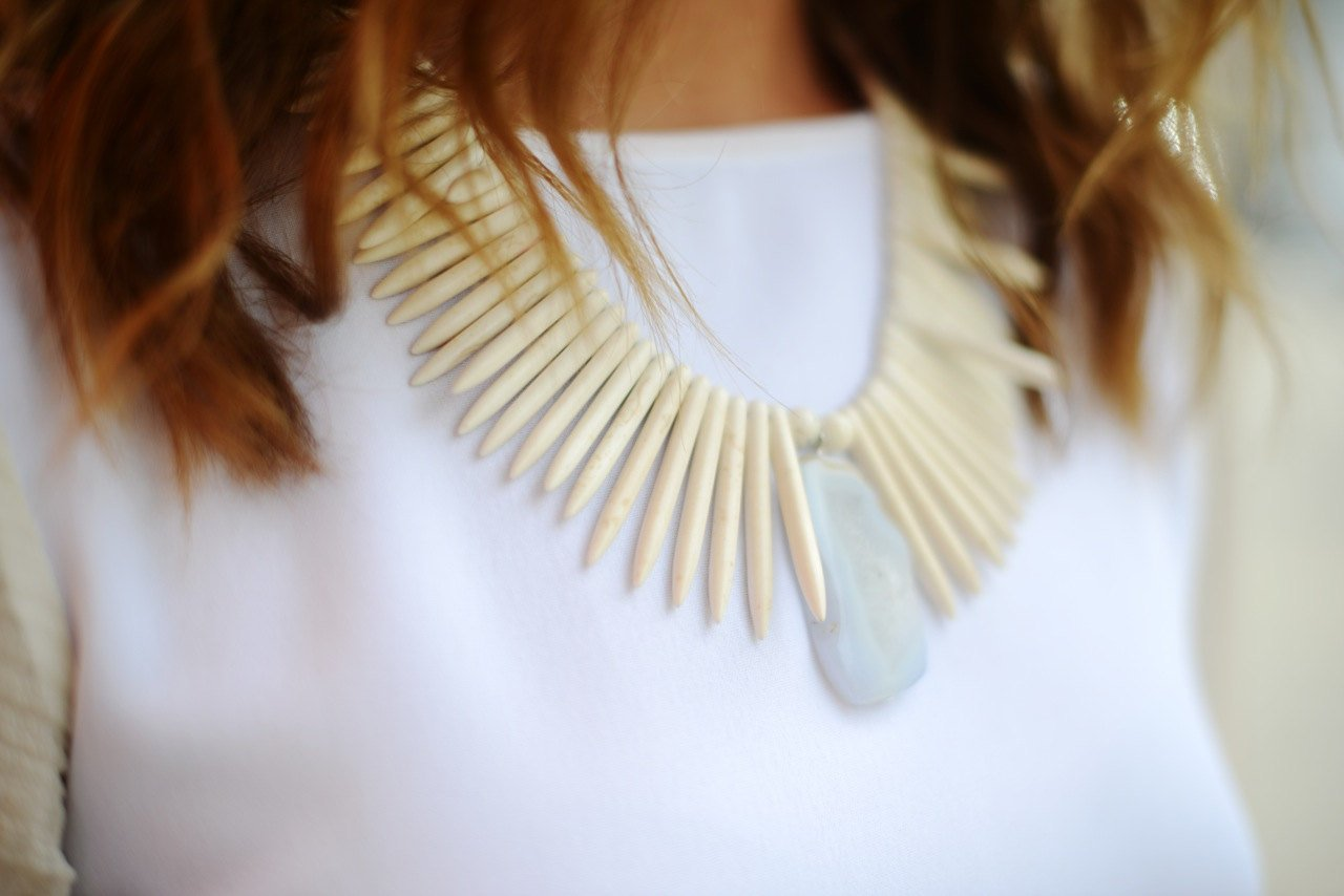 SanRemo WHITE Necklace