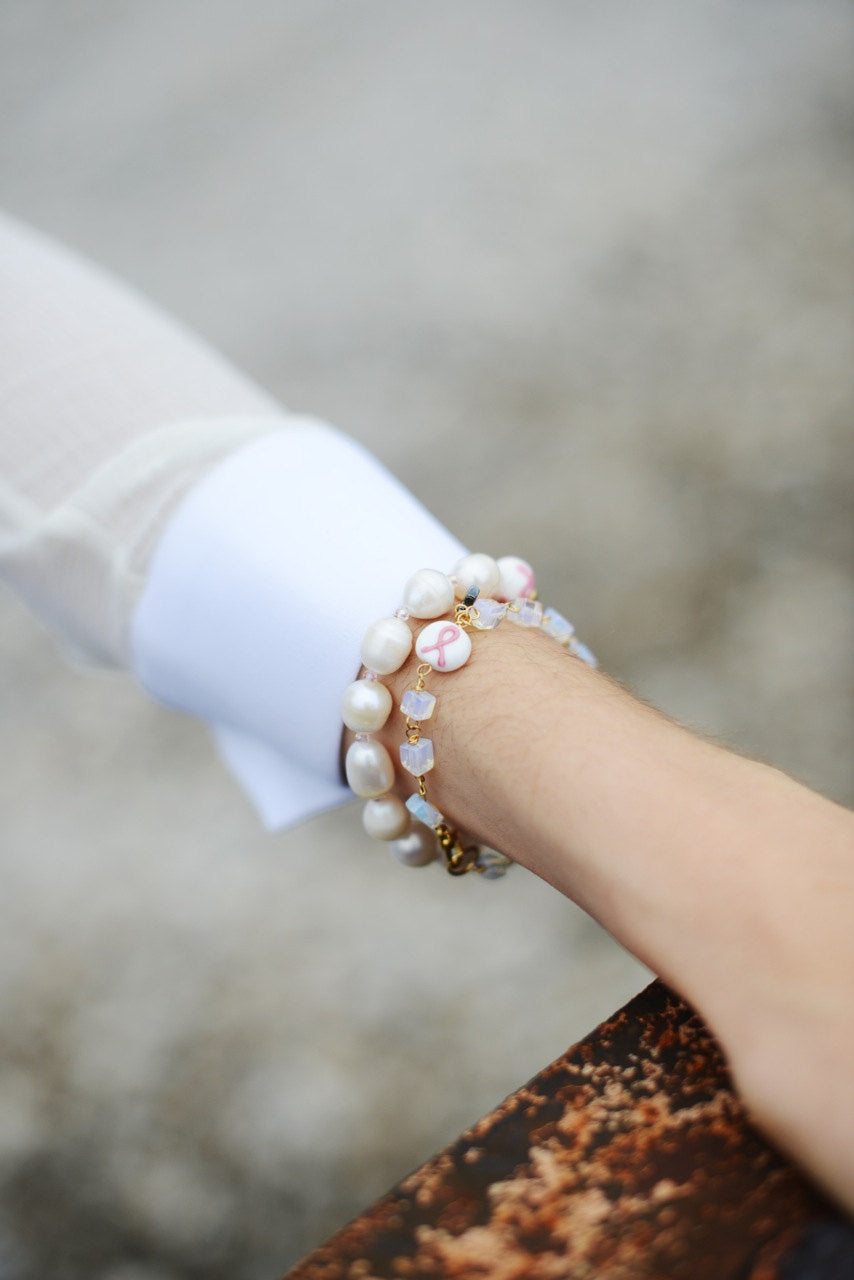 Miriam Bracelet- BREAST CANCER AWARENESS