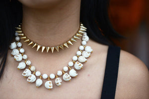 Napoli WHITE Necklace