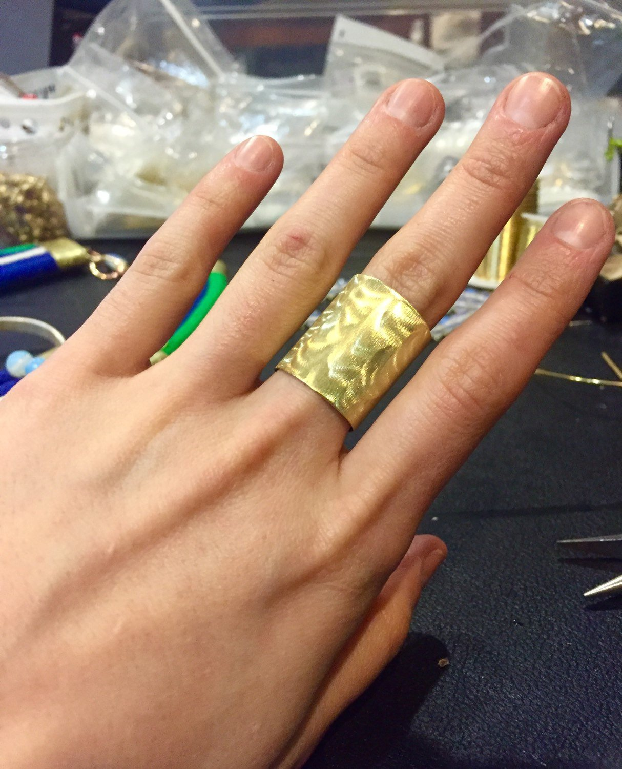 CHICAGO Band Ring