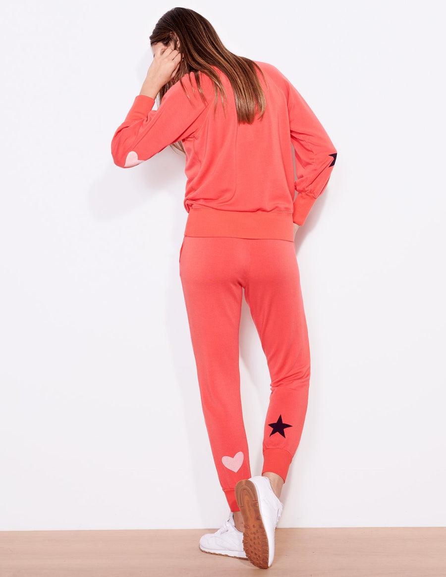 Sundry Star & Heart Sweatshirt