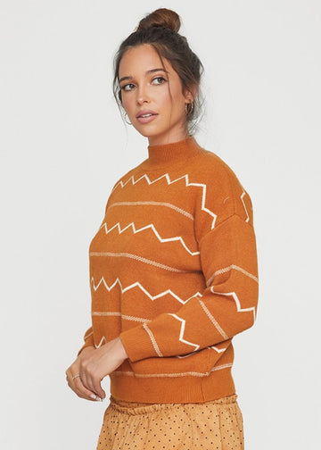 Lost & Wander Bonfire Sweater