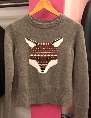 Autumn Cashmere Fox Sweater