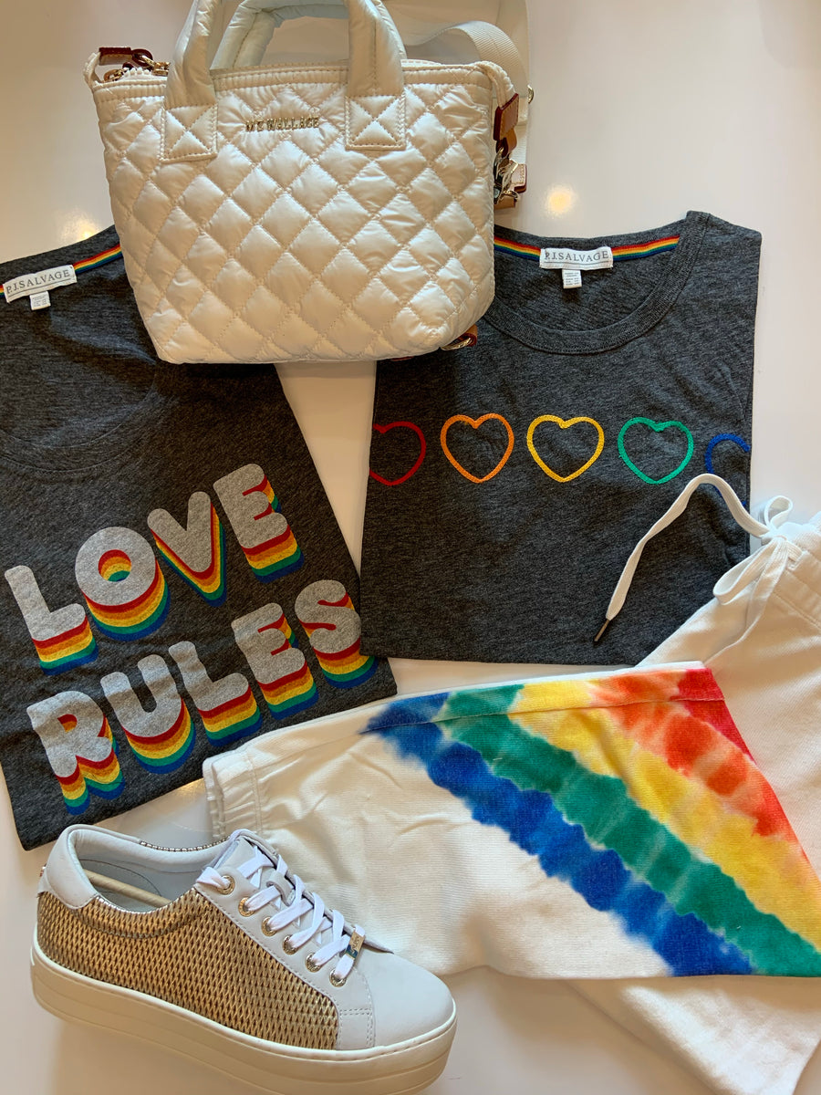 Luv Rules Racer Tank