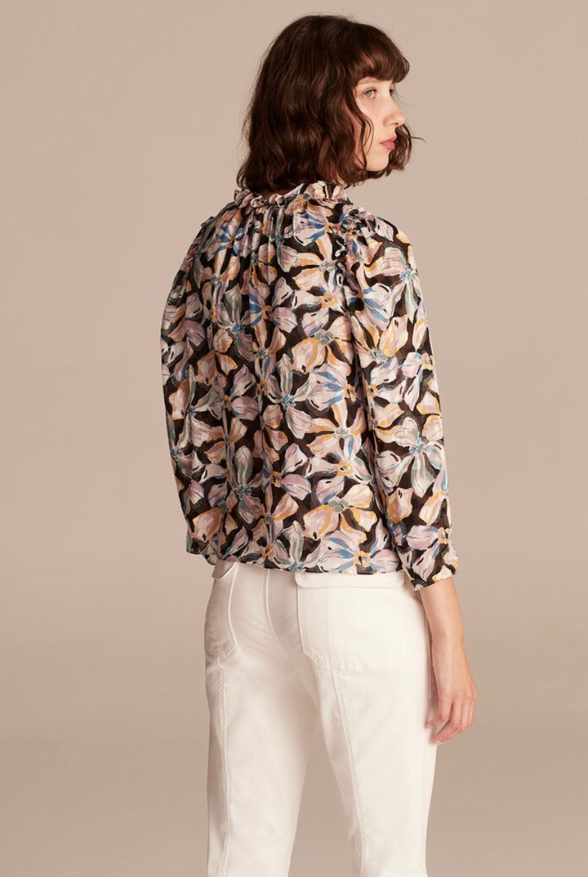 Rebecca Taylor Floral Blouse