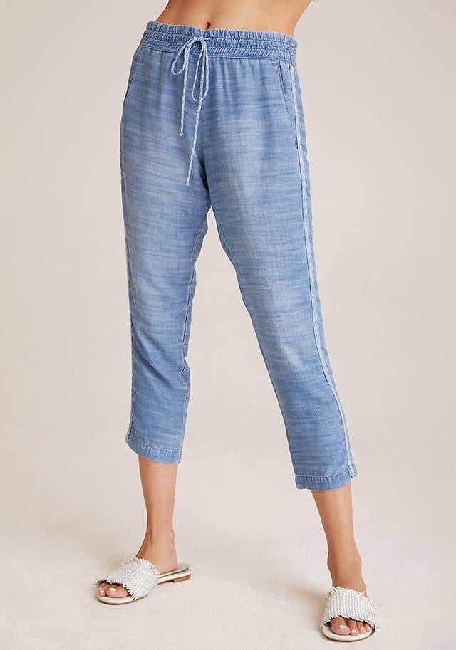 Bella Dahl Double Stripe Crop Pant