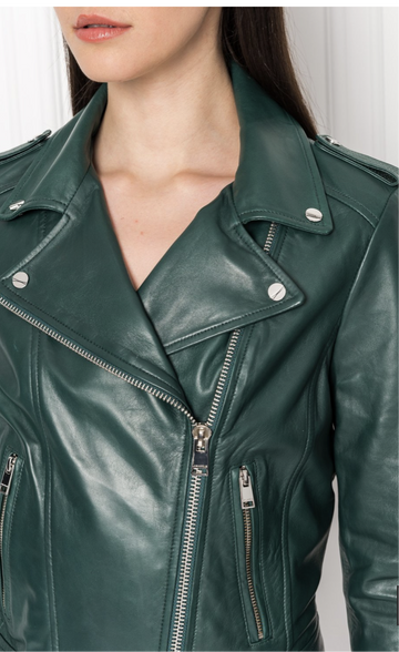 Donna Leather Jacket