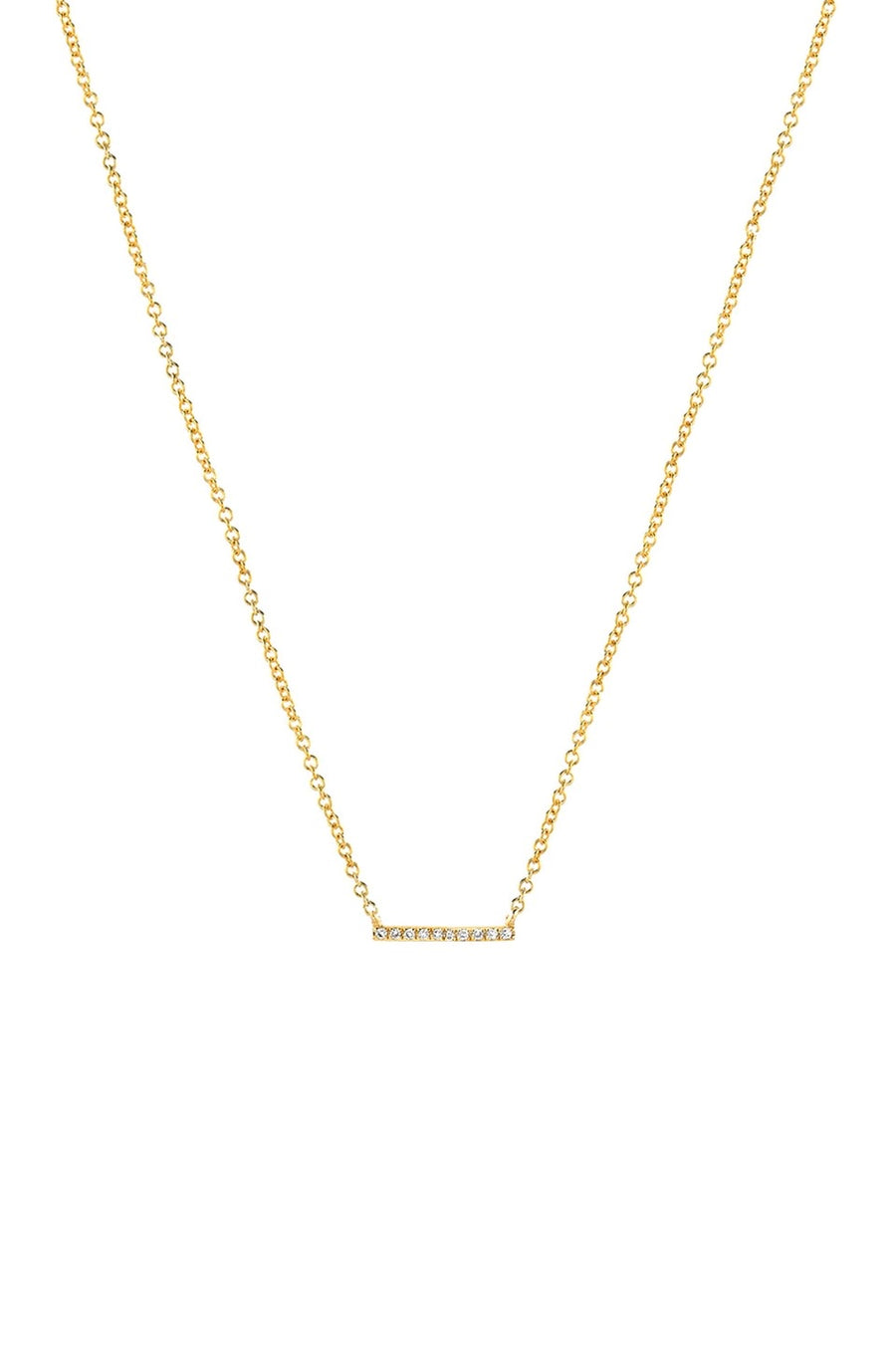 *Zoe Lev Diamond Bar Nexklace