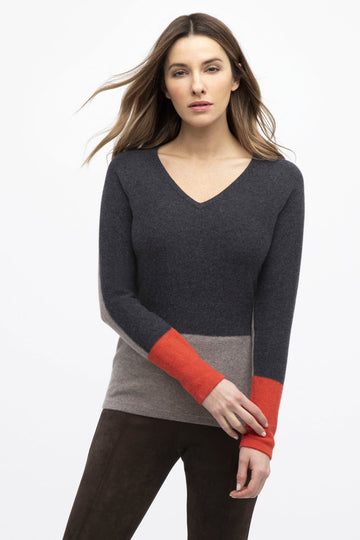 Kinross Color Block Sweater