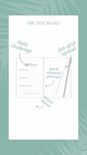 Discover travel journal pages, travel journaling prompts