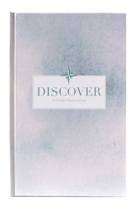 Discover travel journal with prompts hardcover