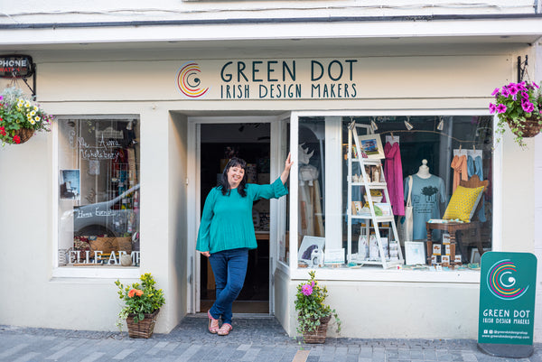 Green Dot Irish Design Makers Shopfront