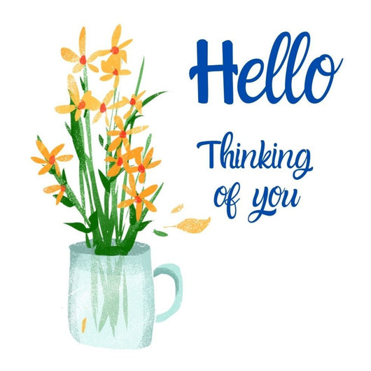 Hello - Thinking of you Card