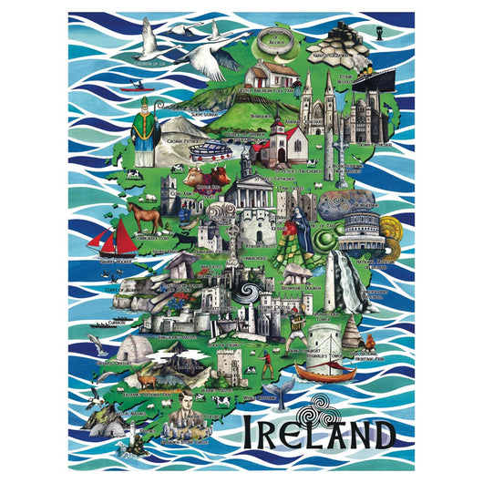 Art of Ireland Jigsaw Puzzle 1000 pieces