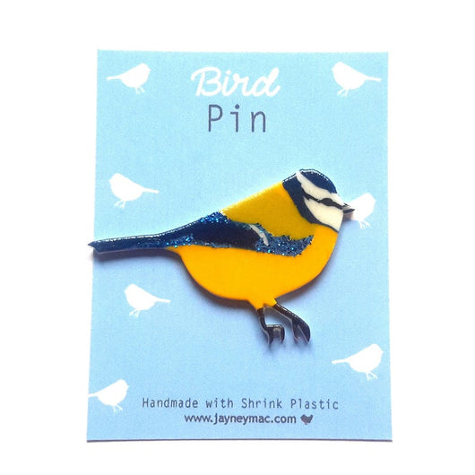Bluetit pin