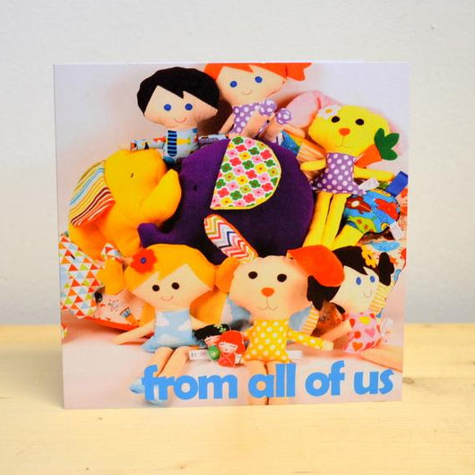 'From all of Us' Card