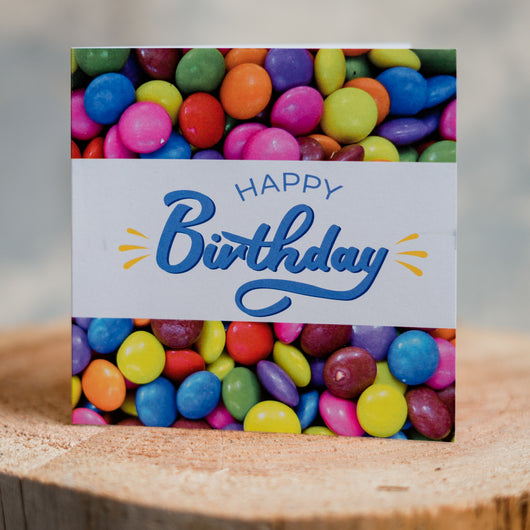Colourful Sweets Birthday Card