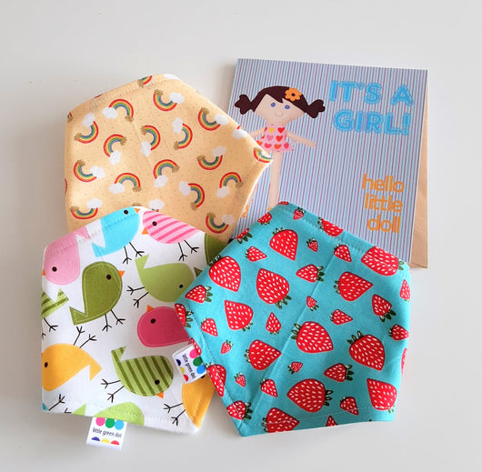 'Its a girl' Bandana Gift box
