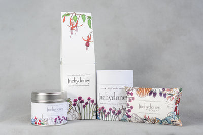 Inchydoney candle Travel Tin